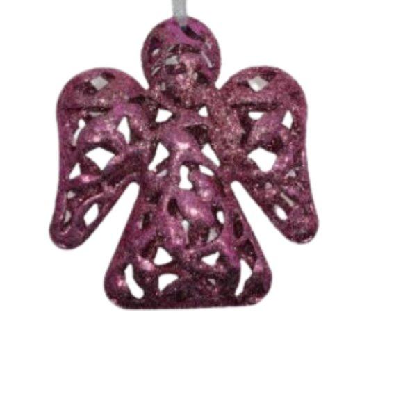 Brand New Pink Angel Christmas Ornament